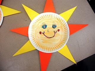 Sun Faces Letter S