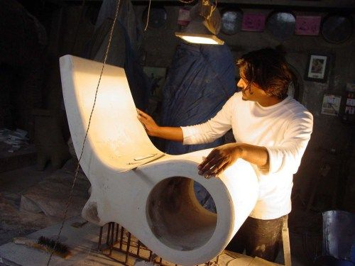 Satyendra Pakhale is an Indian designer with a design consultancy based in Amsterdam. Satyendra's work is typified by an exploration of form, proportion and line in the development stage through an exacting process of iteration in the form of models and maquettes.