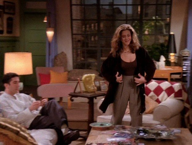 All of Rachel Green's amazing outfits from the first season of Friends —Thrift Store Diane Keaton