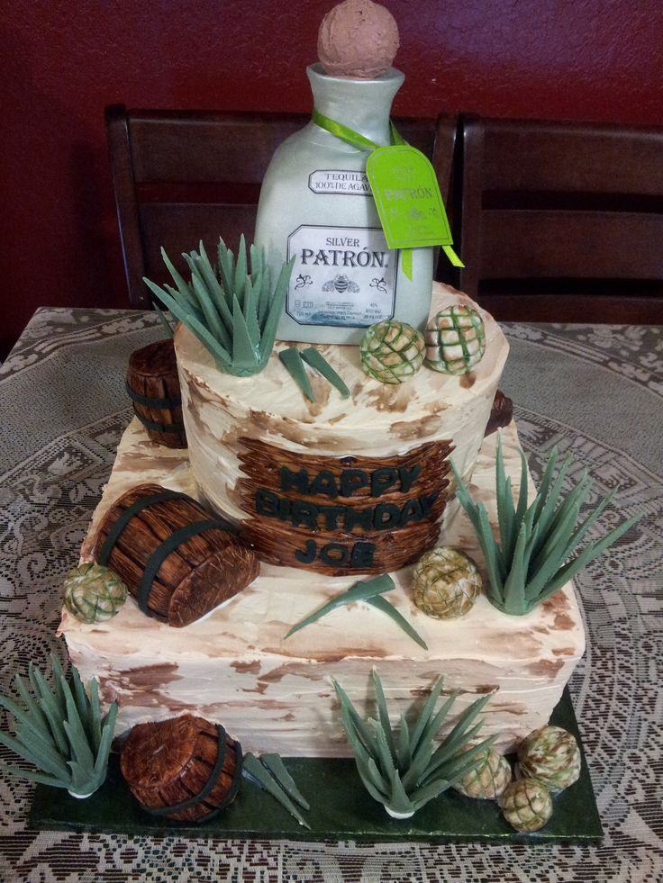 Patron Tequila Cake 8 Quot 12 Quot Round And Square Cakes All