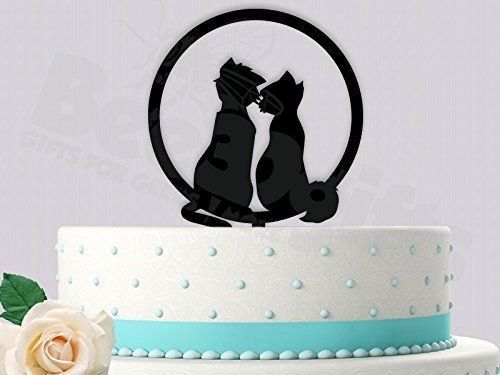 Duchess and O'Mally Aristocat Wedding Cake Topper. Top your cake with this awesome Aristocats Wedding Cake Topper. Please email me the last Name! Each Topper we design can be customized to fit your needs. Images are found by us and mostly redesigned in Illustrator to make the most unique and crazy toppers out there. Our toppers are sure to turn heads and brighten up any occasion. We use High Grade Food Safe Acrylic. Each Topper is shipped with the protective Film on to avoid scratches and...
