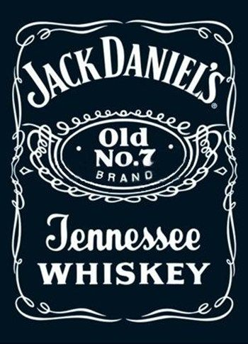 Jack Daniels - Label  Wall Poster