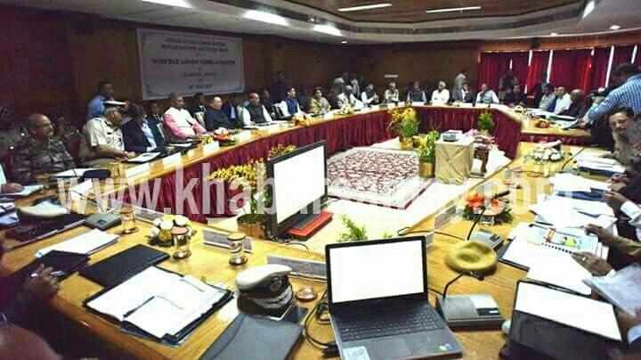Gangtok: Hon'ble Union Home Minister Shri Rajnath Singh chaired the review meeting of Chief Ministers bordering with China at Chintan Bhawan in the state capital today.   #chief Minister #Gangtok #home minister #India #INDOCHINA #MHA #rajnath singh #seven sisters #Sikkim