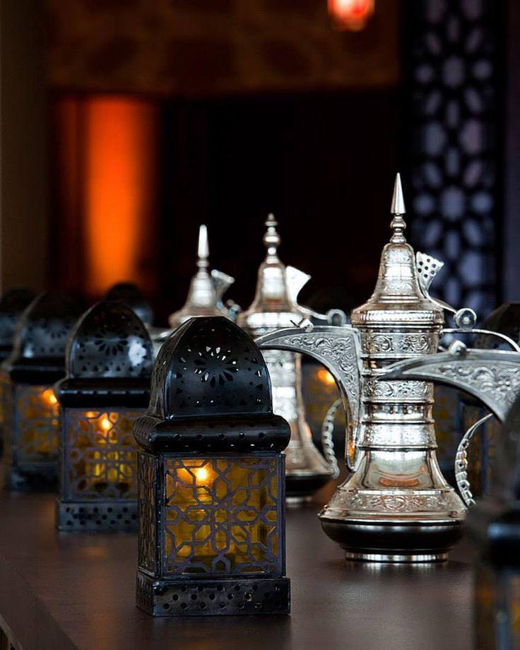 Ramadan Fanous decorations infuse a spark of festivity to #Ramadan celebrations at Four Seasons Hotel Riyadh at Kingdom Centre. #Riyadh