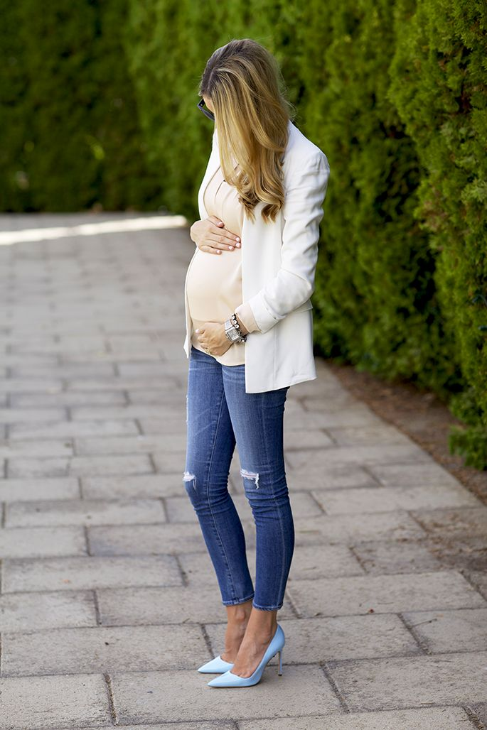 Neutral Tones - pregnancy style - although I'm not sure how much I'd like wearing heals while pregnant.