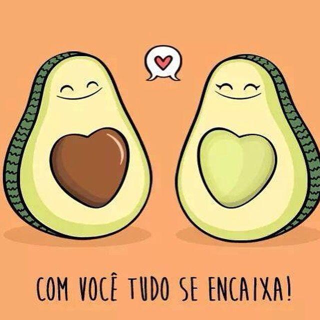 O amor esta em tudo❤️ #lojaamei #muitoamor #bomdia #abacate