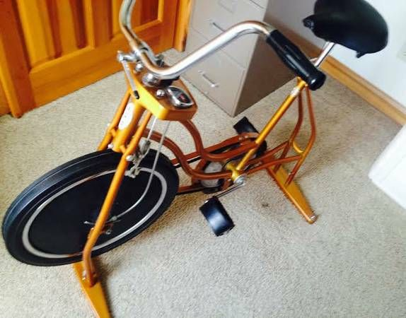"Schwinn Exercise Bike, peddle power with tensioner on Wheel. + Ram 17"" Alloy Dodge OEM Runs, $ Sale or Trade."