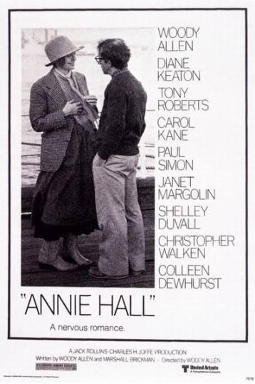 Annie Hall: Movie Posters, Annie Hall, Dianekeaton, Woodyallen, Hall 1977, Woody Allen, Favorite Movie, Diane Keaton, Anniehall