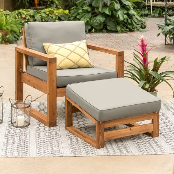 Overstock Com Online Shopping Bedding Furniture Electronics Jewelry Clothing More In 2021 Chair And Ottoman Set Outdoor Chairs Patio Chairs