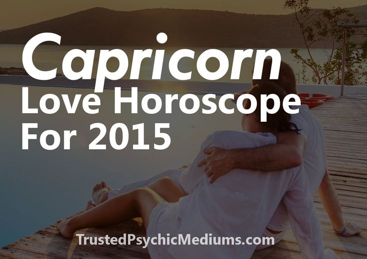 When it comes to love and romance in 2015 there will be major change ahead for Capricorn signs. Read this exclusive Capricorn Love Horoscope for 2015 now.