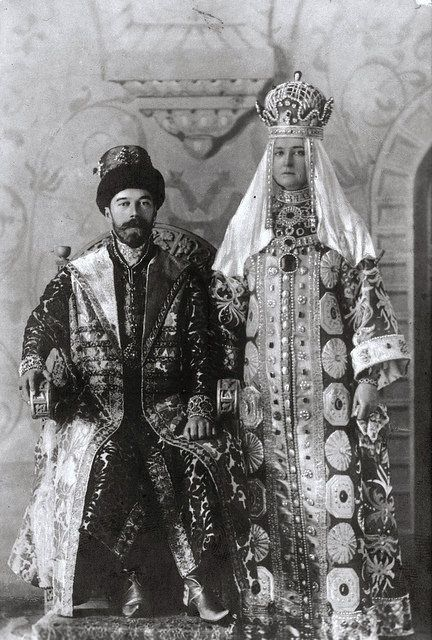 TIM THE TSAR NIKOLAJ II ALEXANDROVICH AND THE TSARITSA ALEXANDRA FJODOROVNA