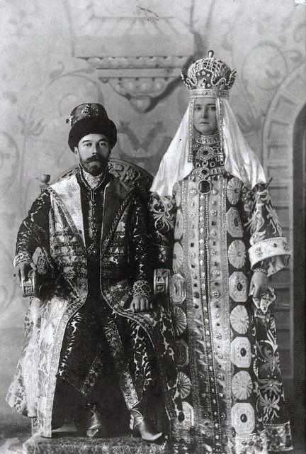 TIM THE TSAR NIKOLAJ II ALEXANDROVICH AND THE TSARITSA ALEXANDRA FJODOROVNA