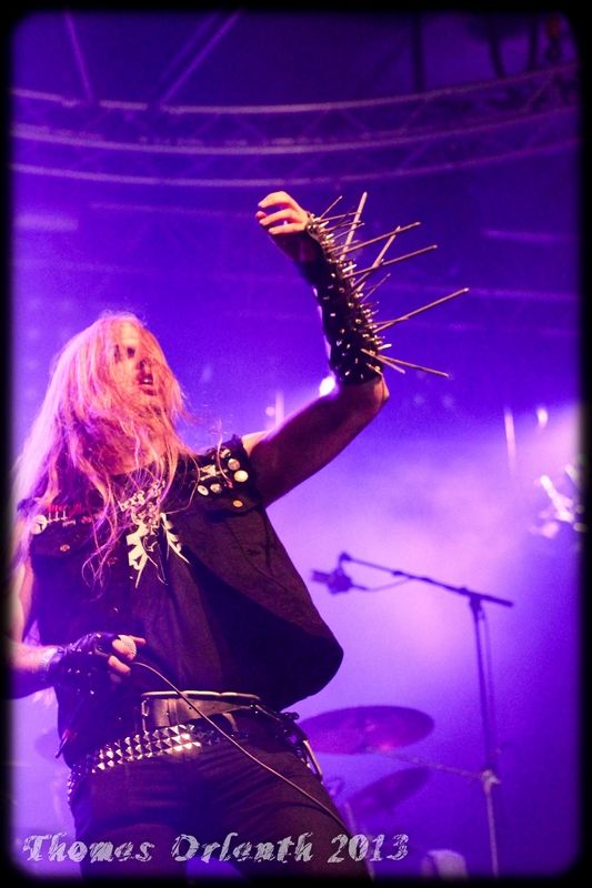 Koldbrann - black metal (Hellfest 2013)
