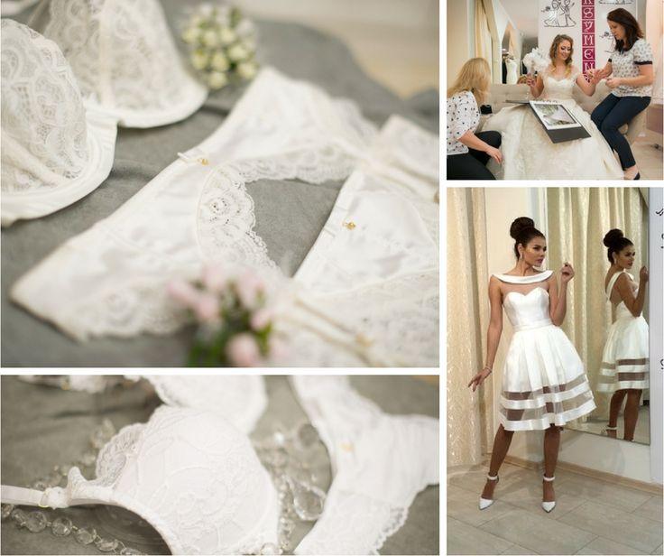 Biel + koronki = idealna bielizna ślubna