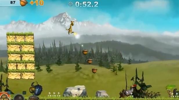 Ezt nézzétek! Egy ugrással begyűjtöttem az összes makkot az Ice Age #online #jatek során!!! Nagy ugrás volt, jöhet a következő játékszint.  http://hu.bigpoint.com/