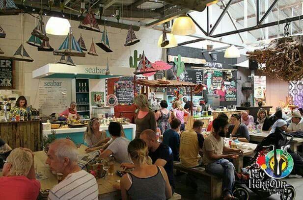 Hout Bay Harbour market