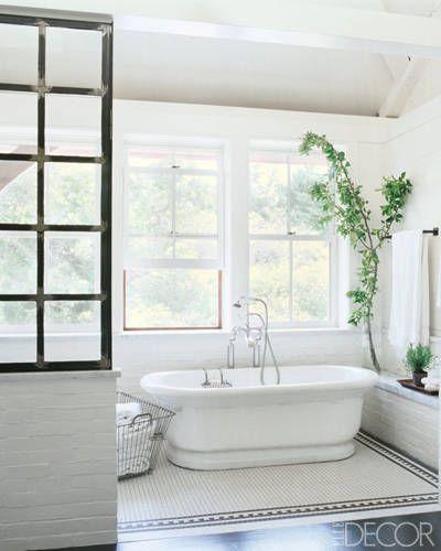 Celebrity Bathrooms - ELLE DECOR