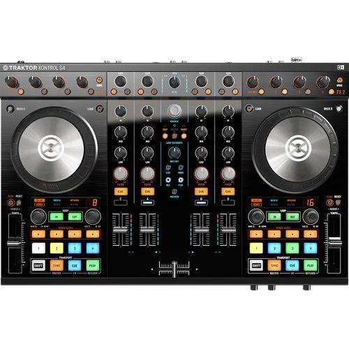 Native Instruments Traktor Kontrol S4 MK2 + Decksaver Cover - The Disc DJ Store