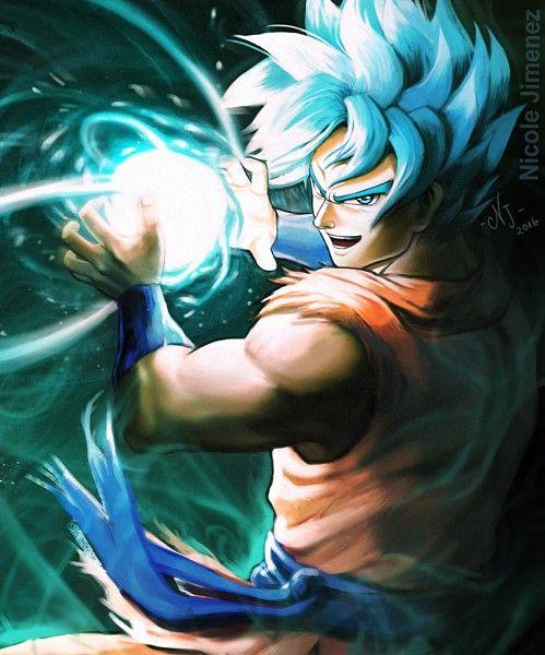 DRAGON BALL, Son Goku (DRAGON BALL), Saiyan, Super Saiyan - Visit now for 3D Dragon Ball Z compression shirts now on sale! #dragonball #dbz #dragonballsuper