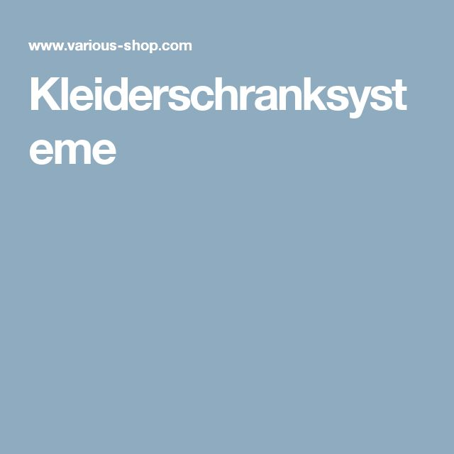 25+ best ideas about kleiderschranksysteme on pinterest | diy ... - Kleiderschranksysteme