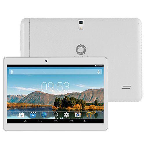 Artizlee® 10 pounce (10.1″) Tablette Tactile ATL-21 (Blanc) – 3G (Double-SIM) 16Go Dual Core HD 1024×600 WIFI WLAN USB