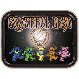 Grateful Dead - Dancing Bears Rectangle Stash Tin