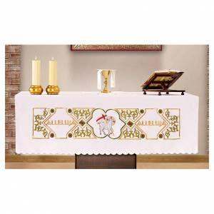 Mantel para altar 165x300 cm Agnus Dei