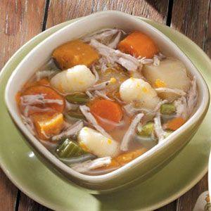 Chicken Stew with Gnocchi Recipe | Taste of Home Recipes