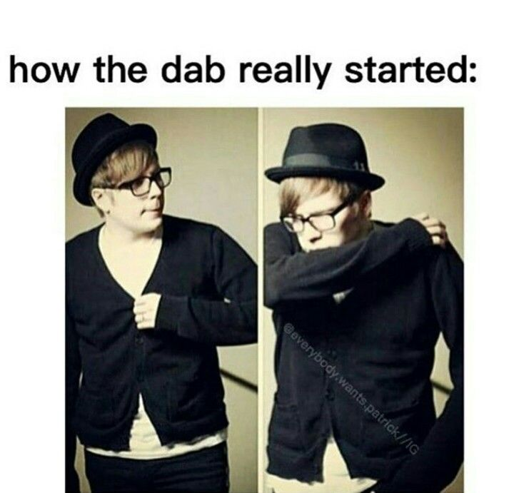 True tho<<< I wouldn't mind people dabbing if this was the actual start of it