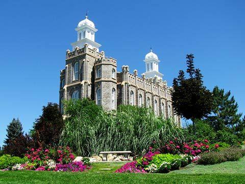 Logan Utah Mormon Temple. © 2008, Missy Fonnesbeck. All rights reserved.