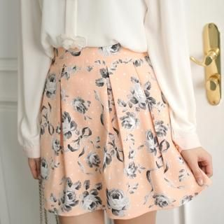 Buy 'Styleberry – Floral Print Pleated A-Line Skirt' with Free International Shipping at YesStyle.com. Browse and shop for thousands of Asian fashion items from South Korea and more!