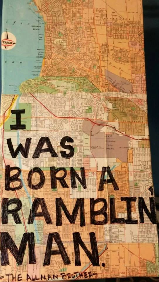 Travel Quote & Map Decor by TheKiltedBear on Etsy