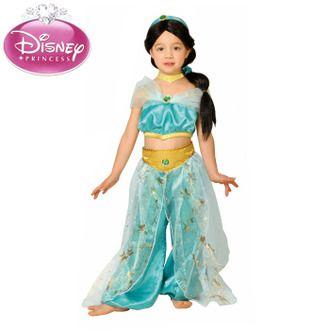 Halloween costumes kids girls Disney costume DX jasmine and Aladdin JASMINE Child Princess Disneyland Halloween outfit / costume / Halloween /HALLOWEEN