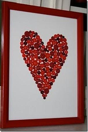 A heart of buttons.