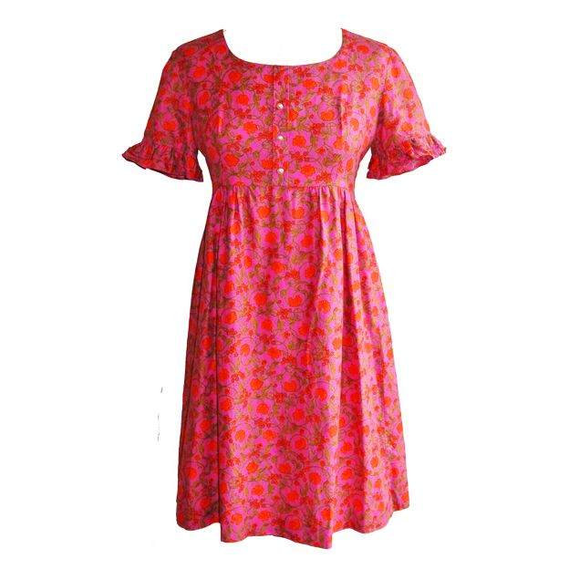 Nouveau flowers Dollyrockers dress - typical dress of the brand at the time :)