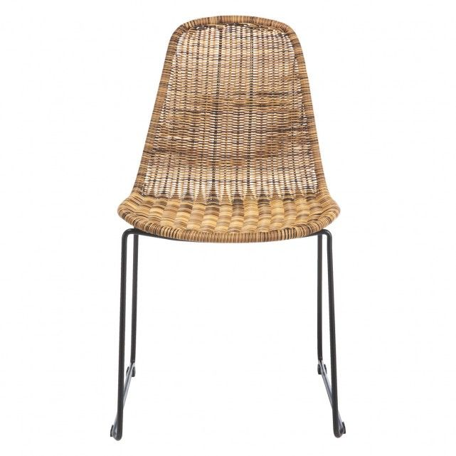 MICKEY Synthetic rattan dining chair | Buy now at Habitat UK