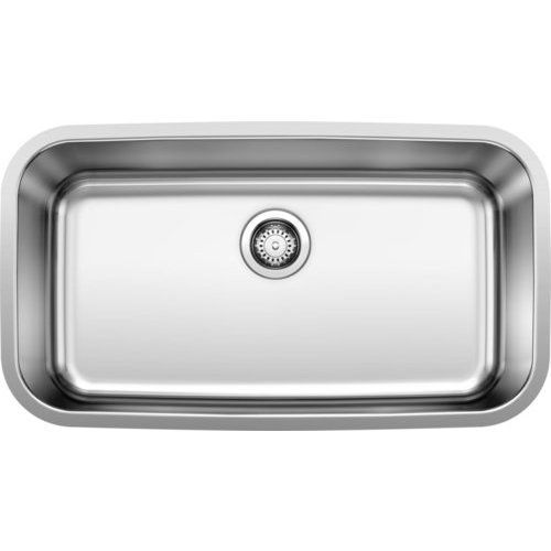 Blanco 32 Inch Stellar Super Undermount Single Bowl Kitchen Sink