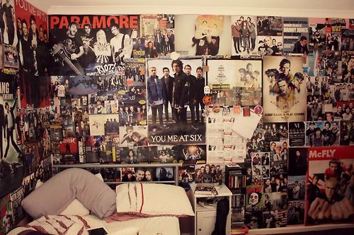 Tumblr Wall Posters  Cool paramore posters bands poster wall  tumblr rooms