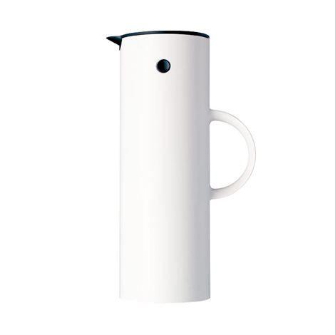 EM77 Stelton vacuum jug 1 l - white shiny 1 l - Stelton