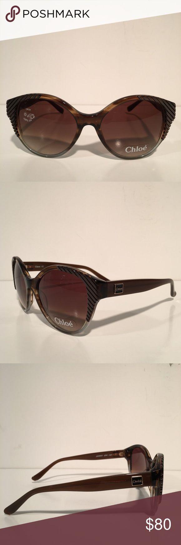 Chloe Brown Cateye Sunglasses Brand New Chloe Accessories Sunglasses