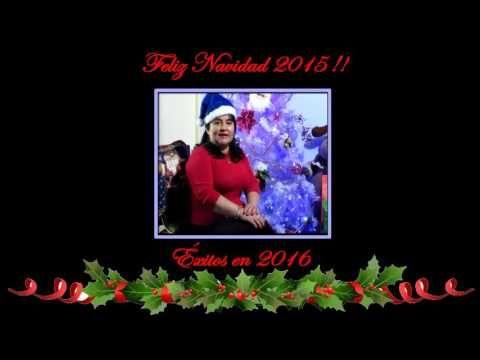 Saludo de Navidad y Año Nuevo 2016