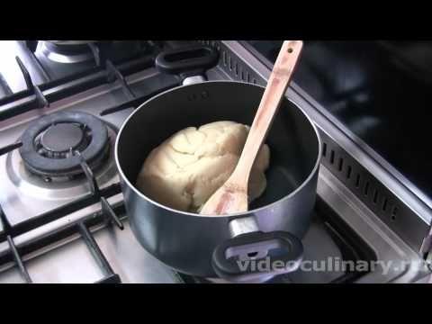 Рецепт - Заварное тесто.