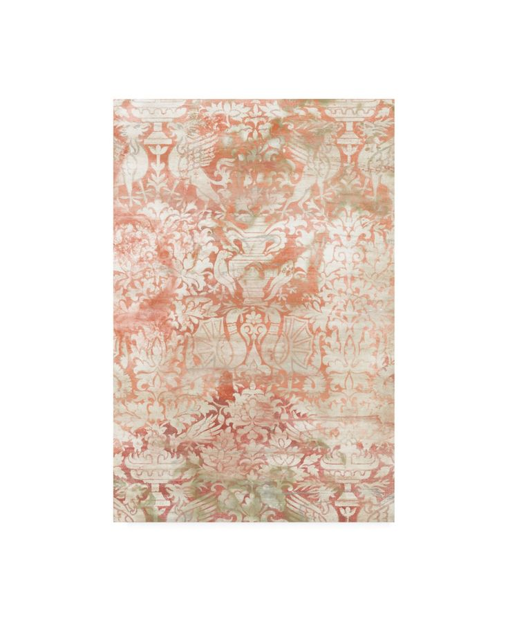 June Erica Vess Garnet Weft Iv Canvas Art – 37″ x 49″ – Multi