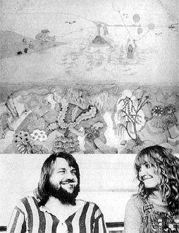 robert wyatt and alfreda benge (artwork for Rock Bottom)
