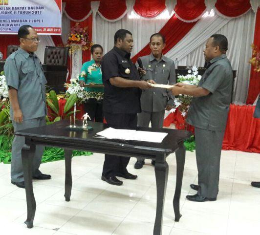 Infrastuktur Kesehatan dan Pendidikan Masuk 27 Rekomendasi DPRD Manokwari