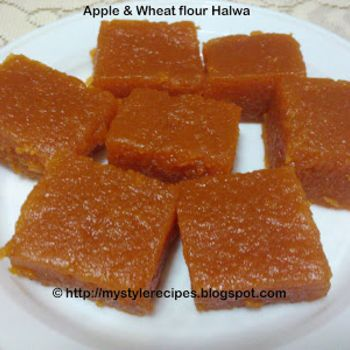 Apple Halwa | Bangladeshi sweets | Pinterest