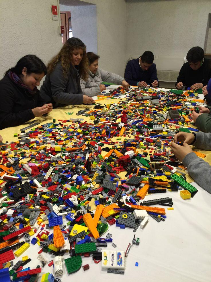 jugando en serio en Planta Soprole Lego Serious Play
