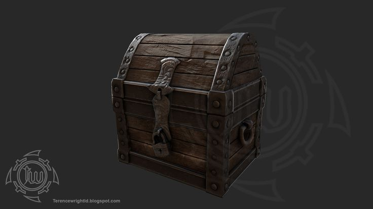 Mandatory game crate/chest, Terence Wright on ArtStation at…