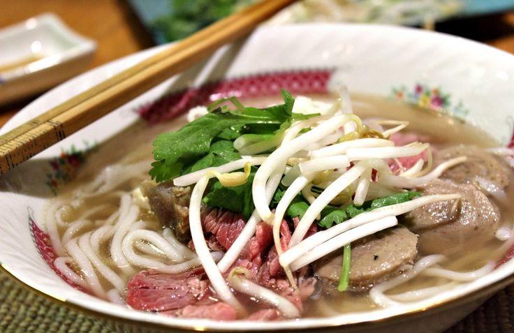 Pho (Vietnamese Beef Noodle Soup)   Recipe   Beef Noodle Soup, Noodle ...