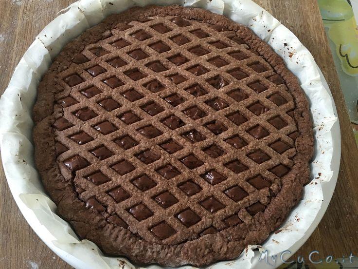 "Crostata ""all dark"" - http://www.mycuco.it/cuisine-companion-moulinex/crostata-all-dark/?utm_source=PN&utm_medium=Pinterest&utm_campaign=SNAP%2Bfrom%2BMy+CuCo"
